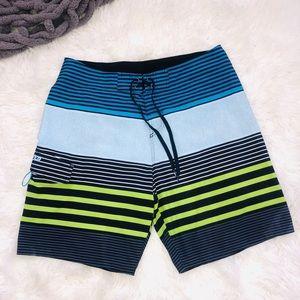 Quiksilver Board Shorts Sz 34